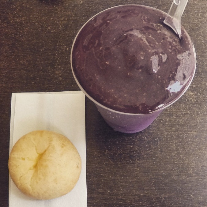 Açaí and pão de queijo.  What else do you need?