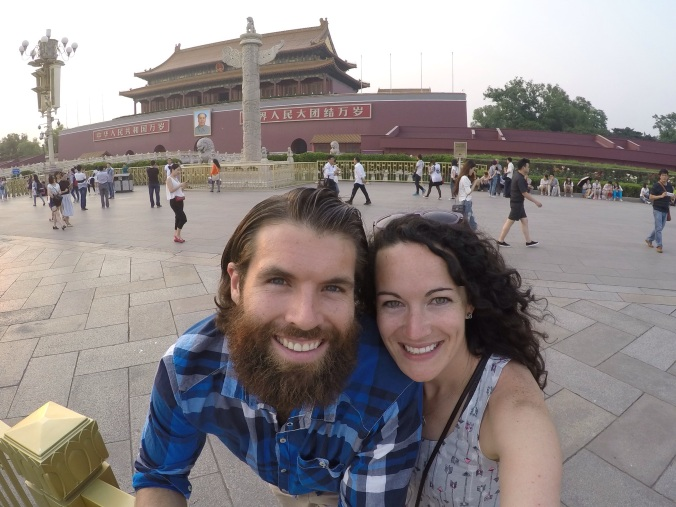 Locked outside of The Forbidden City!